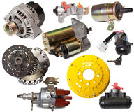 Set Of Auto Parts Stock Images