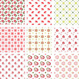 Set Of Baby Patterns Stock Image