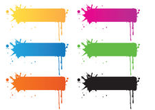 Set Of Banner Design Stock Image