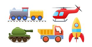 Free Set Of Beautiful Logic Developing Colored Children`s Toys. Royalty Free Stock Photos - 124257208