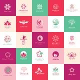 Set Of Beauty Icons Stock Photo