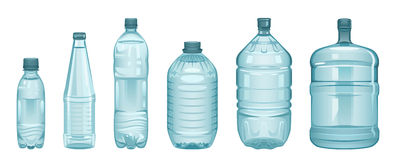 Set Of Bottles Royalty Free Stock Photography