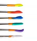 Set Of Brushes Royalty Free Stock Photo