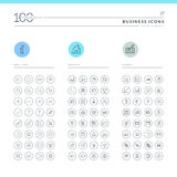 Set Of Business Icons Royalty Free Stock Images