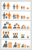 Set Of Business Icons Stock Photos