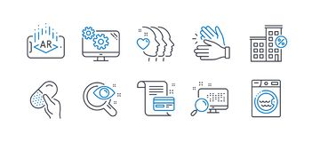 Free Set Of Business Icons, Such As Capsule Pill, Payment Card, Loan House. Vector Stock Image - 161016051