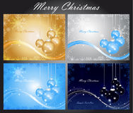Set Of Cards With Christmas Royalty Free Stock Photo