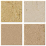 Set Of Ceramic Tiles. Royalty Free Stock Photography