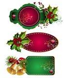 Set Of Christmas Tags Stock Image