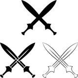Set Of Crossed Swords