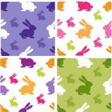 Set Of Cute Seamless Patterns Stock Photo