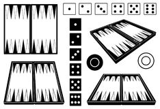 Free Set Of Different Backgammon Boards Stock Photos - 119166433