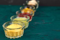 Set Of Different Sauces. Royalty Free Stock Photos