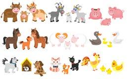 Free Set Of Domestic Animal Royalty Free Stock Photo - 33348245