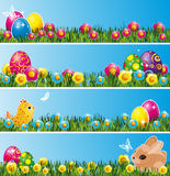 Set Of Easter Banners. Royalty Free Stock Photography