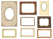 Free Set Of Eight Vintage Photo Frames Royalty Free Stock Image - 12622806