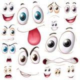 Set Of Eyes Royalty Free Stock Image