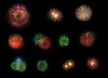 Free Set Of Firework. Stock Photos - 24004763