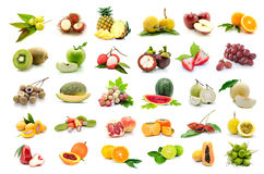 Free Set Of Fruits Royalty Free Stock Photos - 50475348