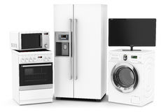 Free Set Of Household Technics Stock Photos - 37570923