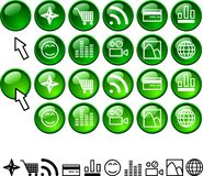 Set Of Icons. Stock Photography