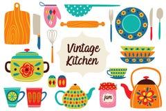 Free Set Of Isolated Vintage Kitchen Utensils Part 1 Stock Photos - 139156093