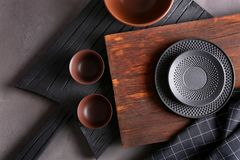 Free Set Of Kitchenware On Background Stock Photos - 116579933