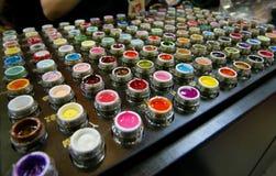 Set Of Lip Gloss Stock Photos