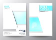 Set Of Modern Brochure Flyer Stock Images