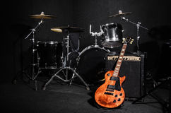 Free Set Of Musical Instruments Royalty Free Stock Images - 44751999