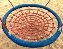 Free Set Of Net Crawl Constructions On Kids Playground Stock Photo - 75702210