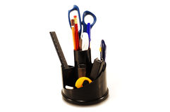 Set Of Office Accessories Stock Image