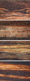 Set Of Old Wooden Backgrounds Stock Images