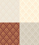 Set Of Patterns Royalty Free Stock Photos