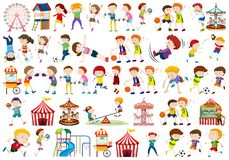 Free Set Of People Character Stock Photo - 145176050