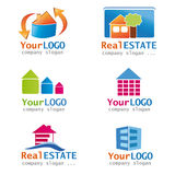 Set Of Real Estate Logos Stock Photography