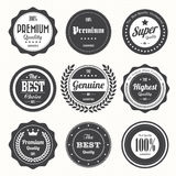 Set Of Retro Vintage Badges And Labels Stock Photos