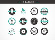 Set Of Retro Vintage Badges And Labels Royalty Free Stock Photo