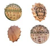 Free Set Of Shaman Drums Royalty Free Stock Image - 115601846