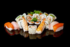 Set Of Sushi Royalty Free Stock Image