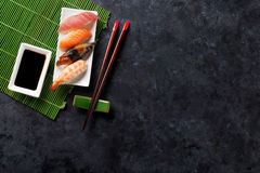 Free Set Of Sushi Royalty Free Stock Photos - 67163278