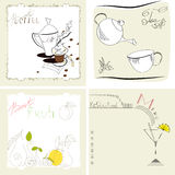 Set Of Template For Menu Royalty Free Stock Image