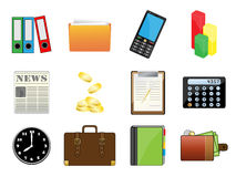 Set Of Useful Icons Royalty Free Stock Photos