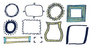 Free Set Of Various Frames Card Vector Illustration Stock Photo - 117794150