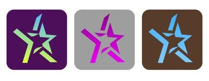Free Set Of Vector Funky Stars Stock Photos - 8948783