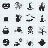 Set Of Vector Halloween Icons. Stock Photos