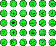 Free Set Of Vector Icons Stock Image - 3721091