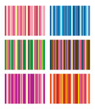 Set Of Vector Stripe Schemes Stock Photo