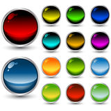 Set Of Vector Web Buttons Stock Images