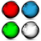 Set Of Vector Web Buttons Stock Image